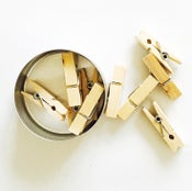 Image of Mini Clothespins