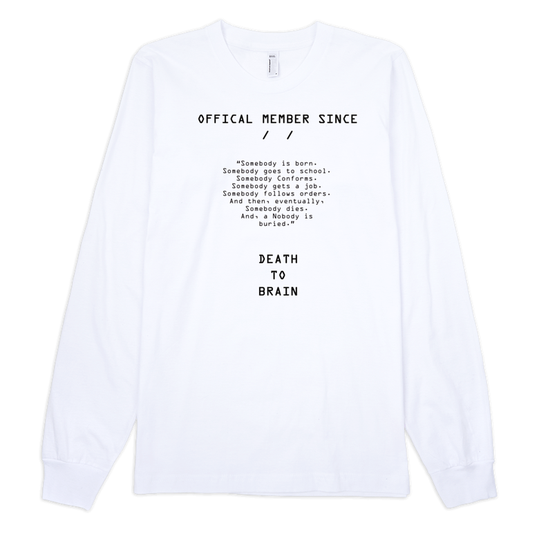 Image of OFFICAL MEMBER LONG SLEEVE