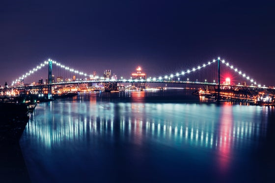 Image of Ambassador Bridge