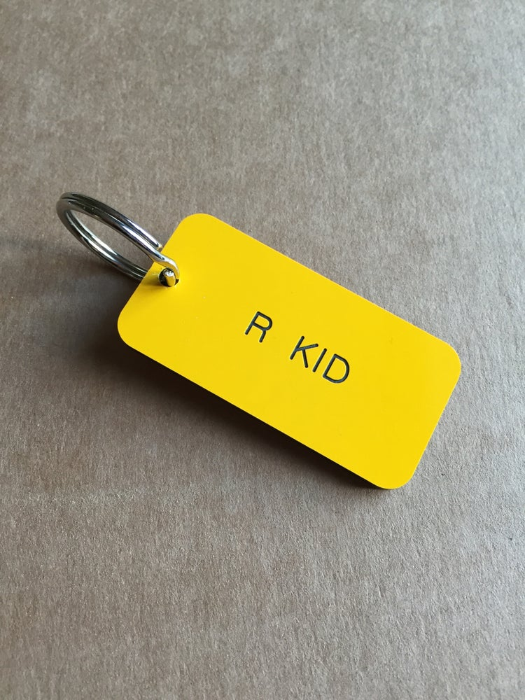 Image of R Kid Manchester Locker style Keyring