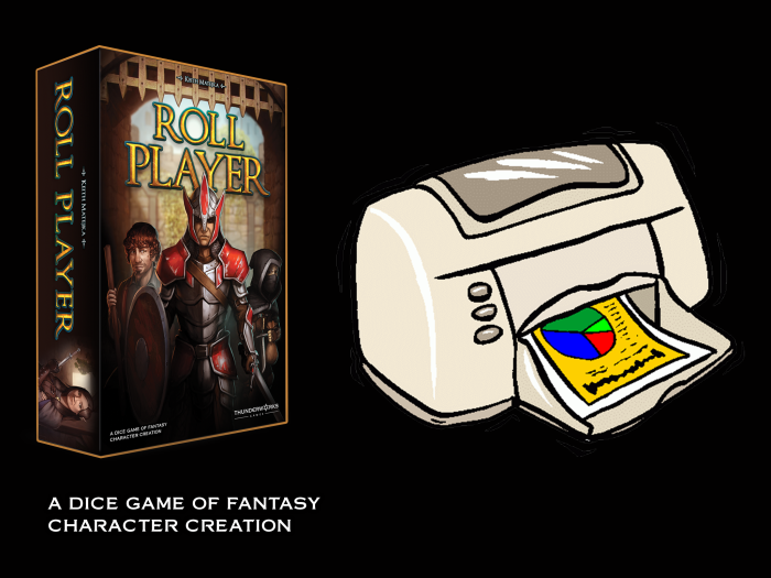 Image of Roll Player Deluxe Print and Play Version