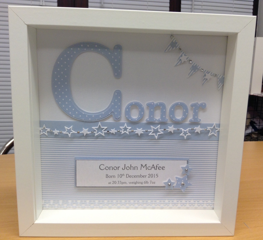 next prev image of personalised baby name frame - Name Frame