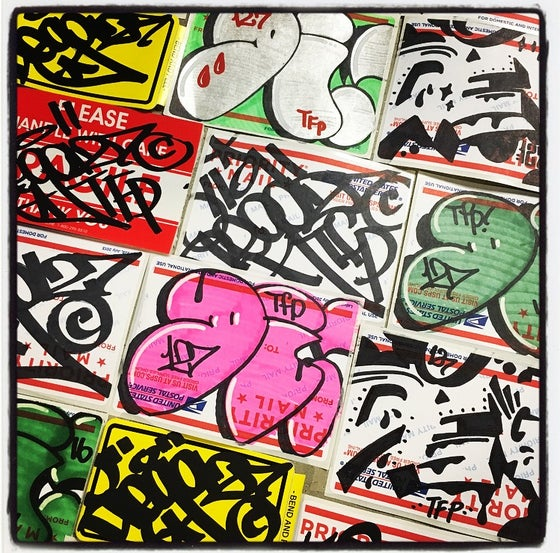 Image of DIEGO127 TFP STICKER PACK