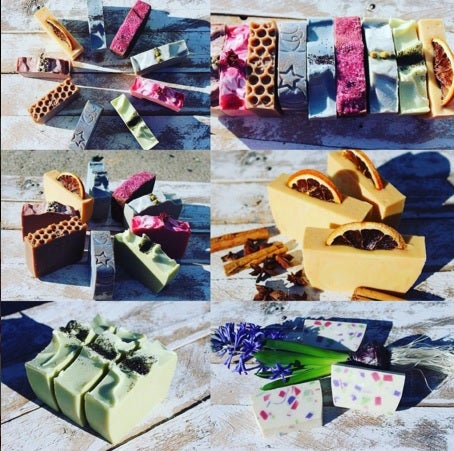 Image of Earthy/Hippie Scented Soaps