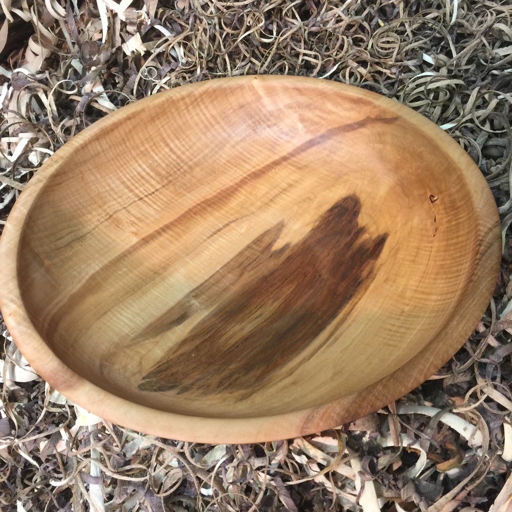 Image of Fiddleback Silver Maple Salad Bowl