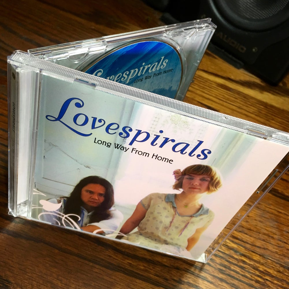 Image of Lovespirals 'Long Way From Home' CD *CLEARANCE*