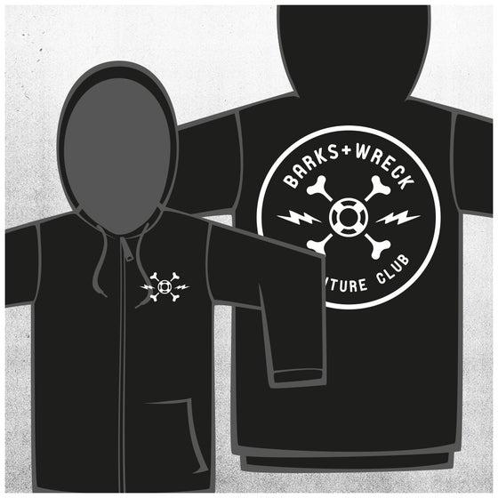 Image of ADVENTURE CLUB Zip Hoody