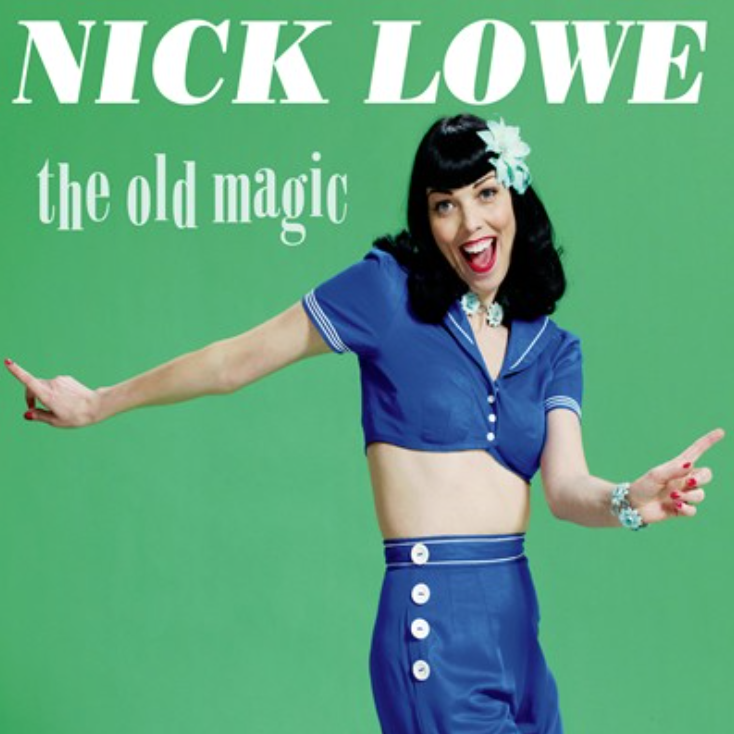 "Image of NICK LOWE ""THE OLD MAGIC"""