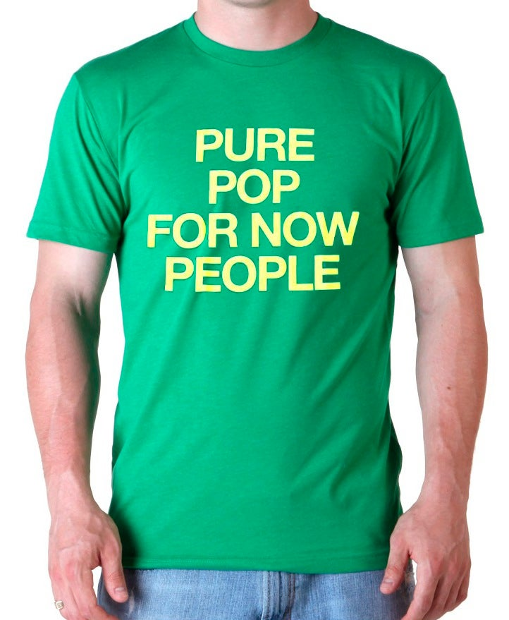 "Image of NICK LOWE ""PURE POP FOR NOW PEOPLE"" T-SHIRT"
