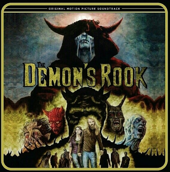 Image of The Demon's Rook Soundtrack (Opaque Blue)