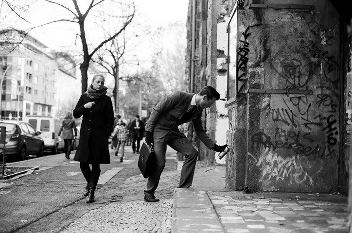 Image of Graffiti Wall Street