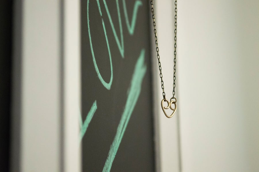 Image of You + Me Necklace II