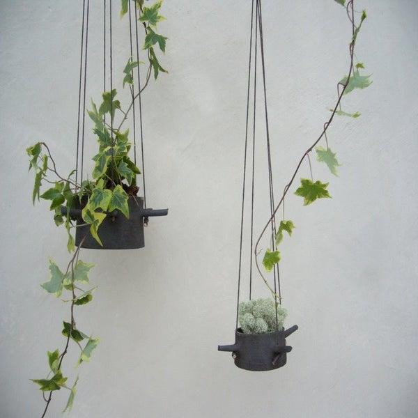 Image of Hanging Flower Pot Four Horns
