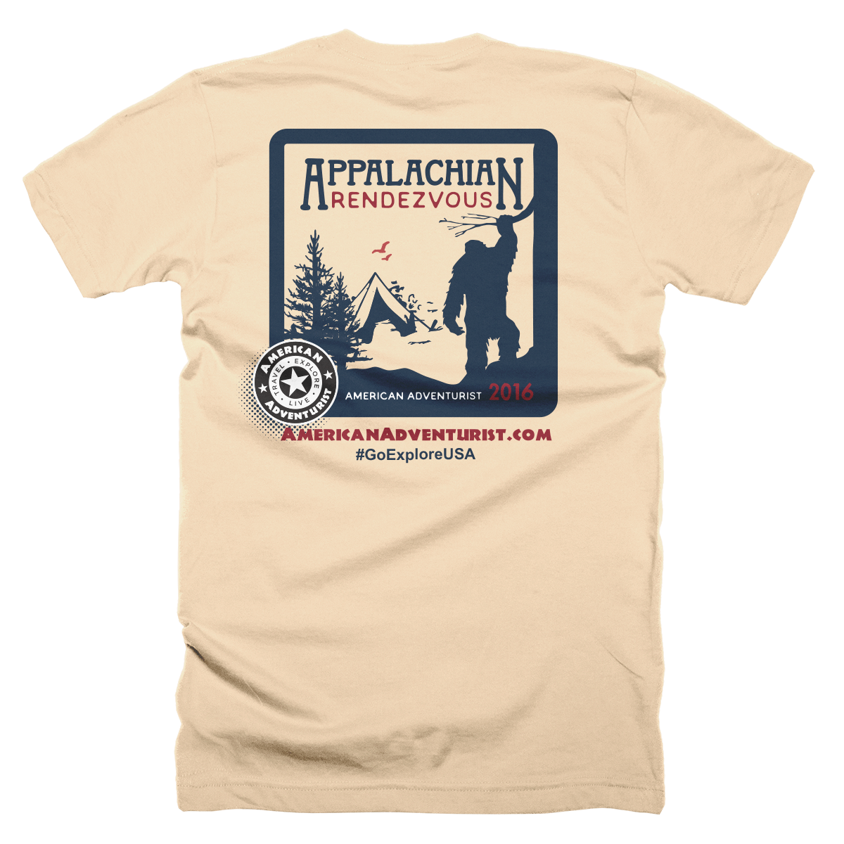 Image of Appalachian Rendezvous 2016 T-Shirt