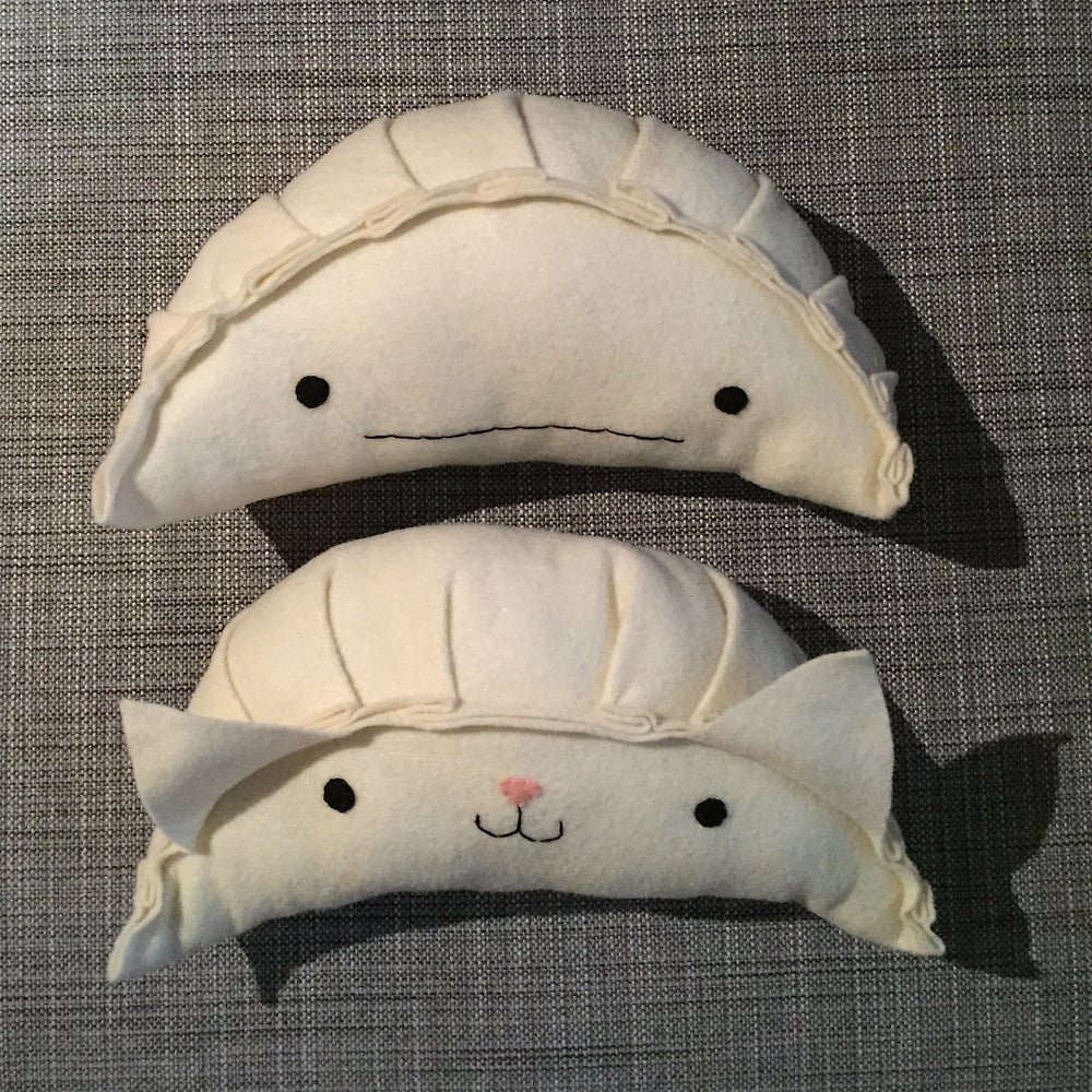 Image of XL dumpling plush -- made to order