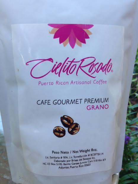 Image of Cielito Rosado Café Gourmet Grano 8oz / Puerto Rican Gourmet Specialty Coffee
