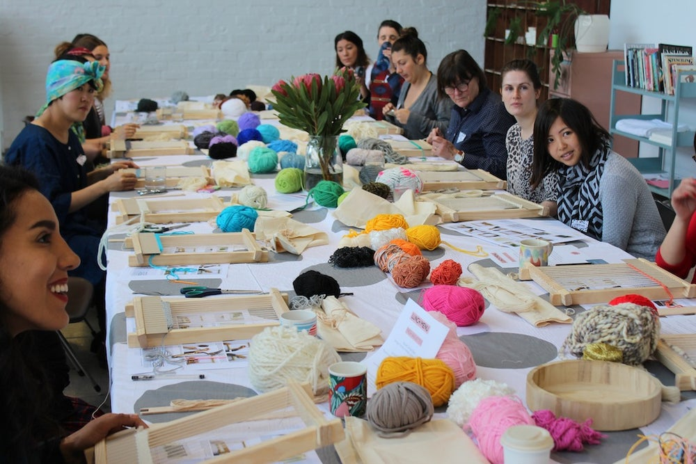 Image of Weaving Party - For enquiries please contact hellorachelwood@gmail.com