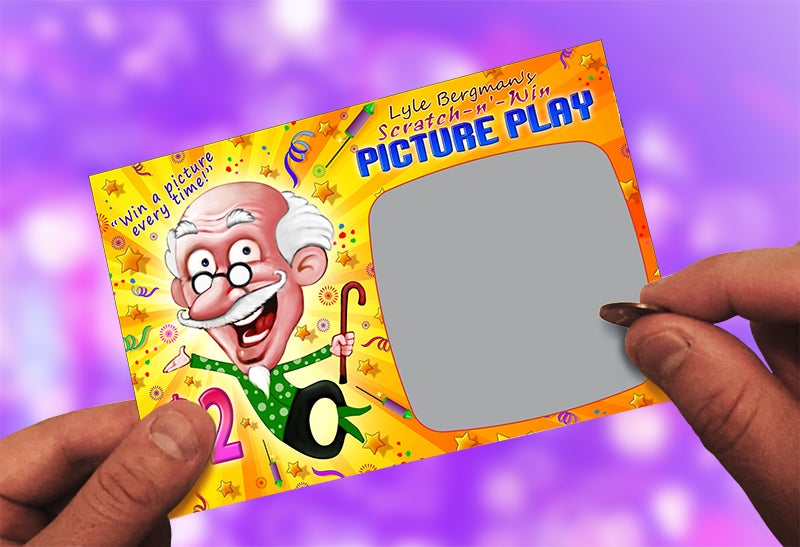 Image of LYLE BERGMAN'S SCRATCH-N'-WIN PICTURE PLAY