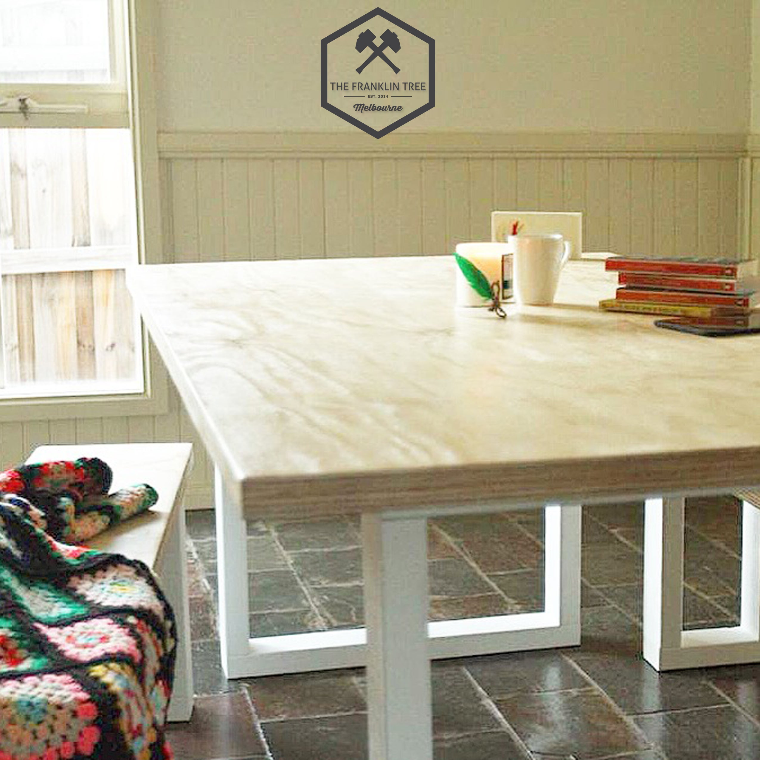 Image Of Williamsburg Dining Table / Plywood