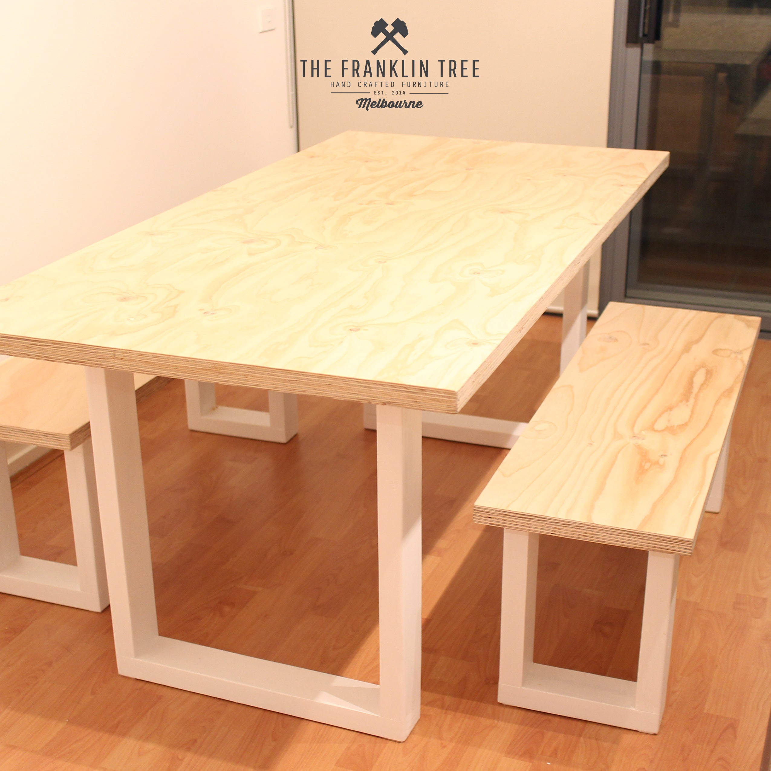 ... Image Of Williamsburg Dining Table / Plywood