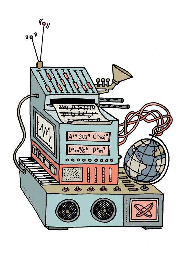 Image of Music machine 2