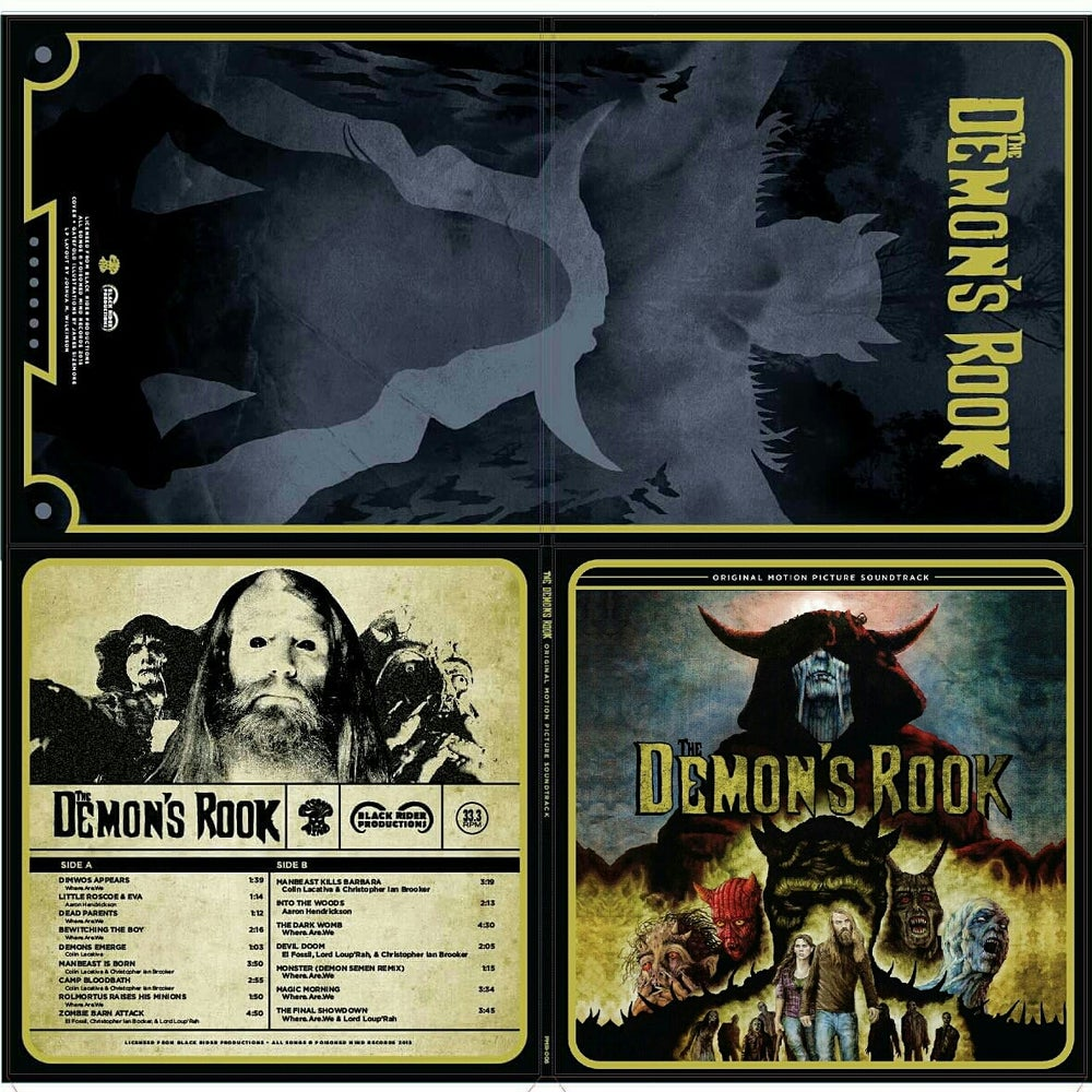 Image of The Demon's Rook Soundtrack (Black) 155 copies