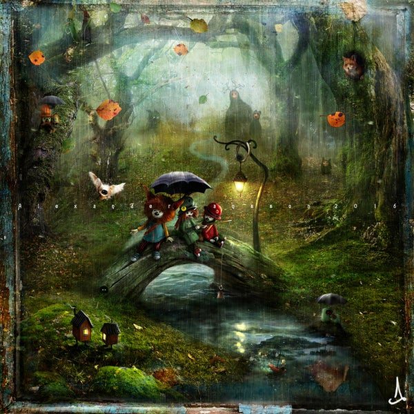 """Soothing Drizzle"" - Alexander Jansson Shop"