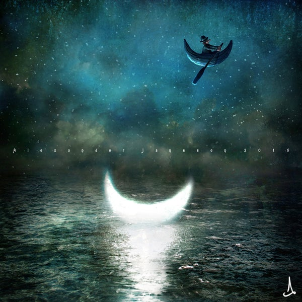 """It was a dull night"" - Alexander Jansson Shop"