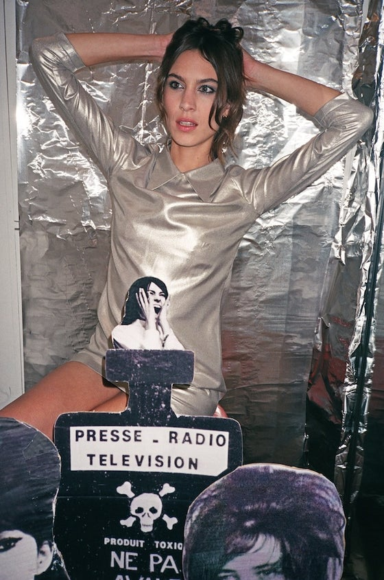 Image of The Silver Dress