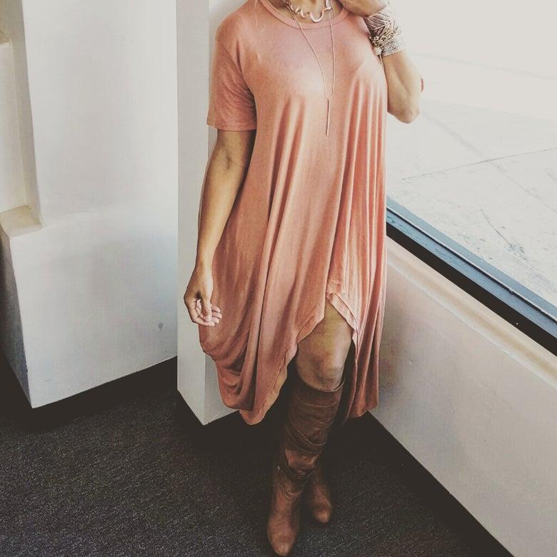 Image of PAPAYA BAGGY DRESS