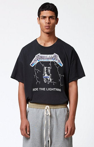 Image of Pacsun x Fear of God Metallica Boxy Tee