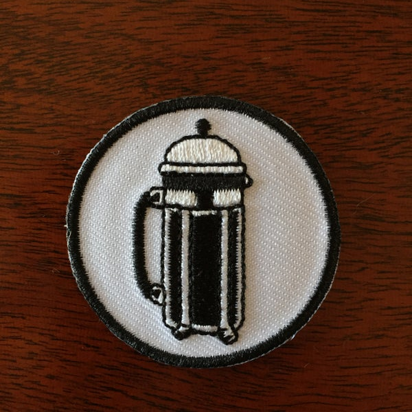Image of French Press patch