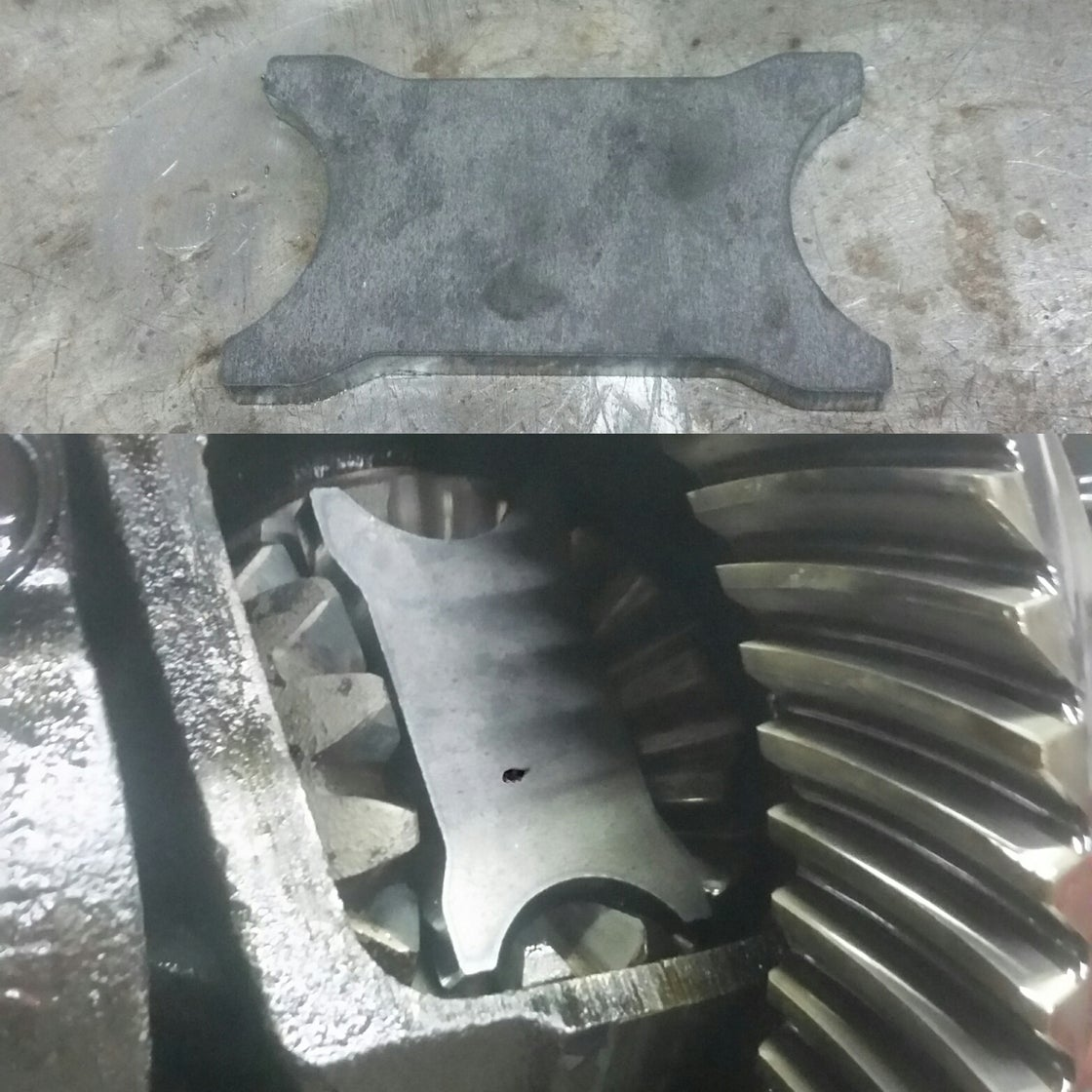 Image of DIY S-chassis Weld in Diff Plates