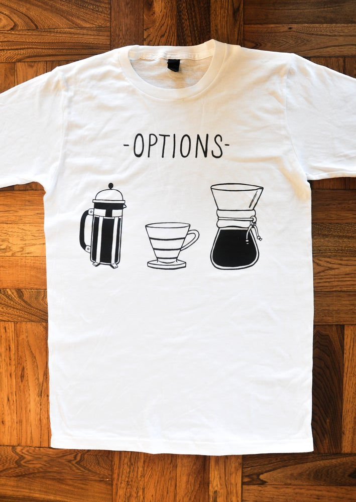 Image of Options tee