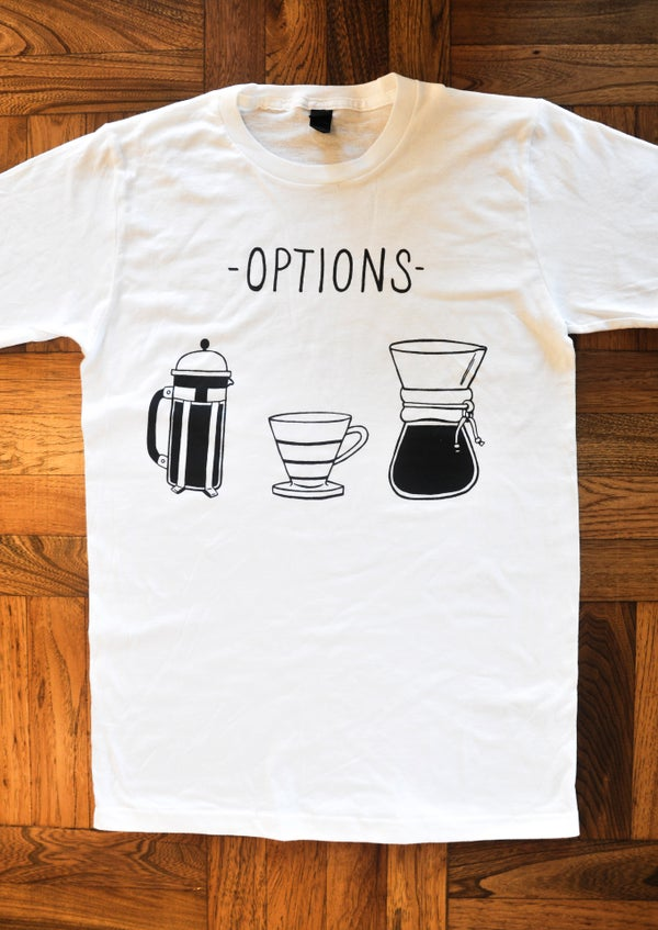 Image of Options tee
