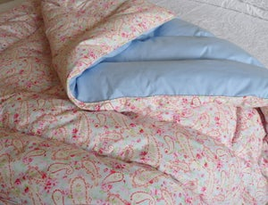 Image of Pretty Paisley Alice Eiderdown Double