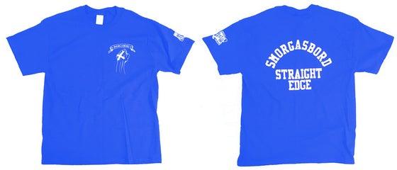 Image of SMORGASBORD STRAIGHT EDGE Shirt - Blue/White