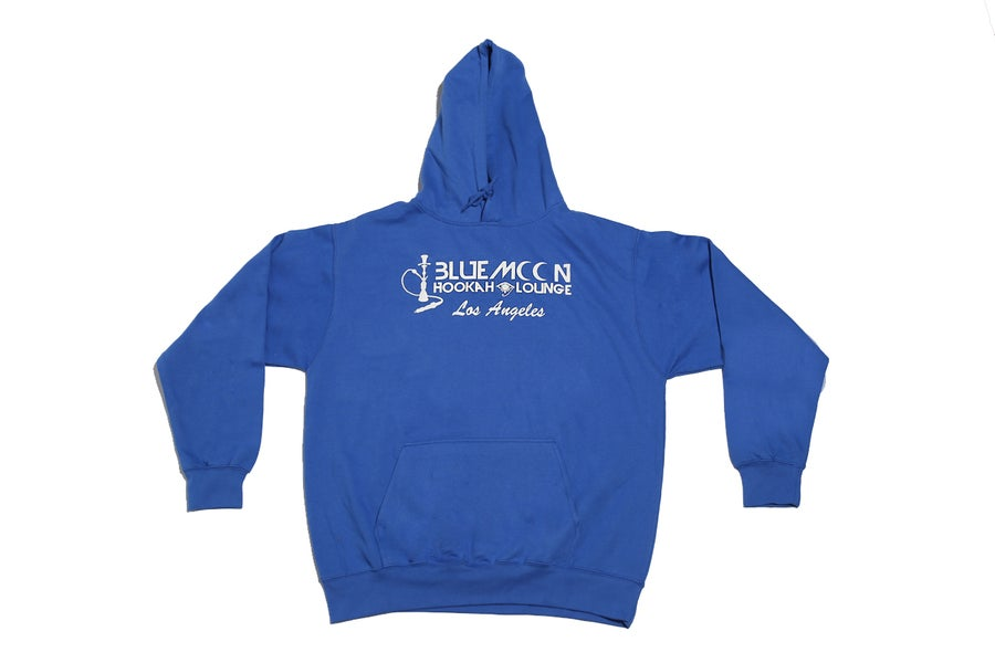 Image of BLUEMOON HOODIE - Blue