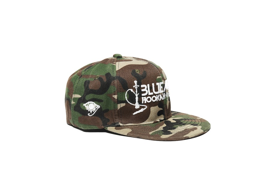 Image of BLUEMOON SNAPBACK - Camo