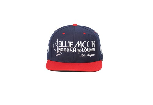 Image of BLUEMOON SNAPBACK - Red/Navy