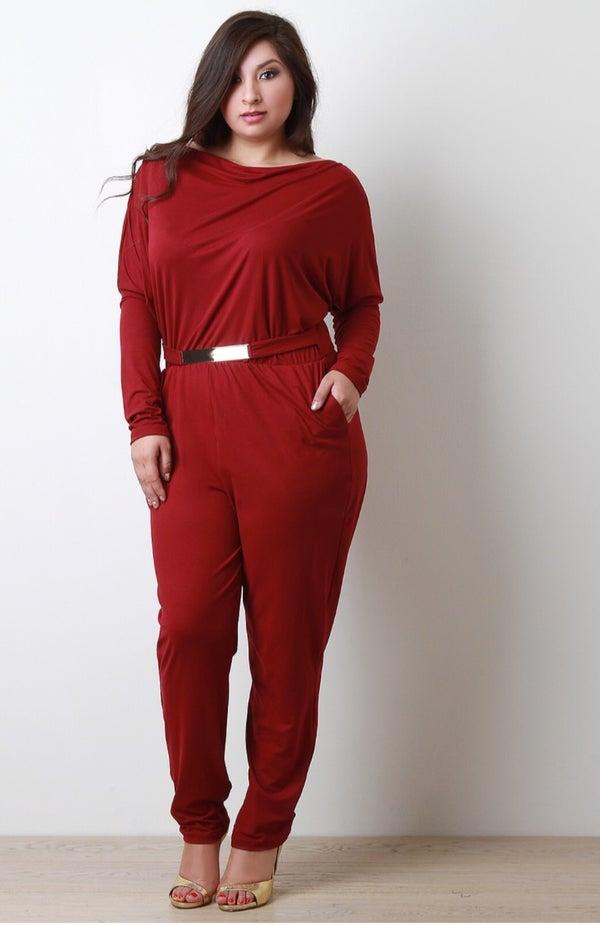 Image of Rose Jumpsuit