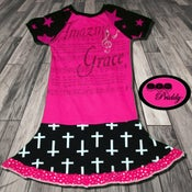 Image of ** SOLD OUT** Amazing Grace Twirl Dress -  size 11/12 with jewels