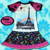 Image of **SOLD OUT** Paris Eiffel Tower Twirl Dress  - size 7/8