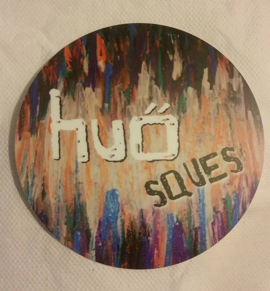 Image of Sques album cover sticker