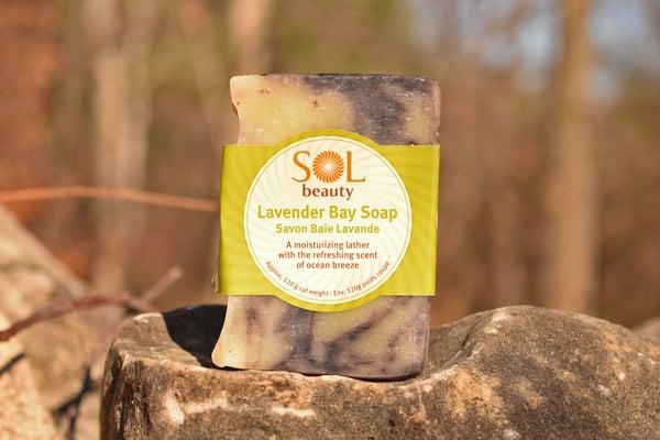 Lavender Bay Soap - Sol  Beauty