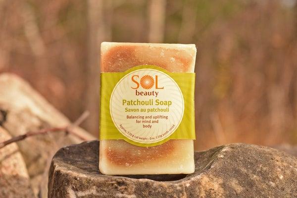 Patchouli Soap - Sol  Beauty