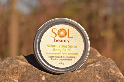 Scintillating Spice Body Balm - Sol  Beauty
