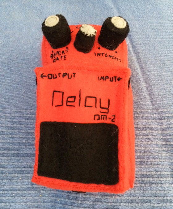 Image of Library Card Felt Delay Pedal