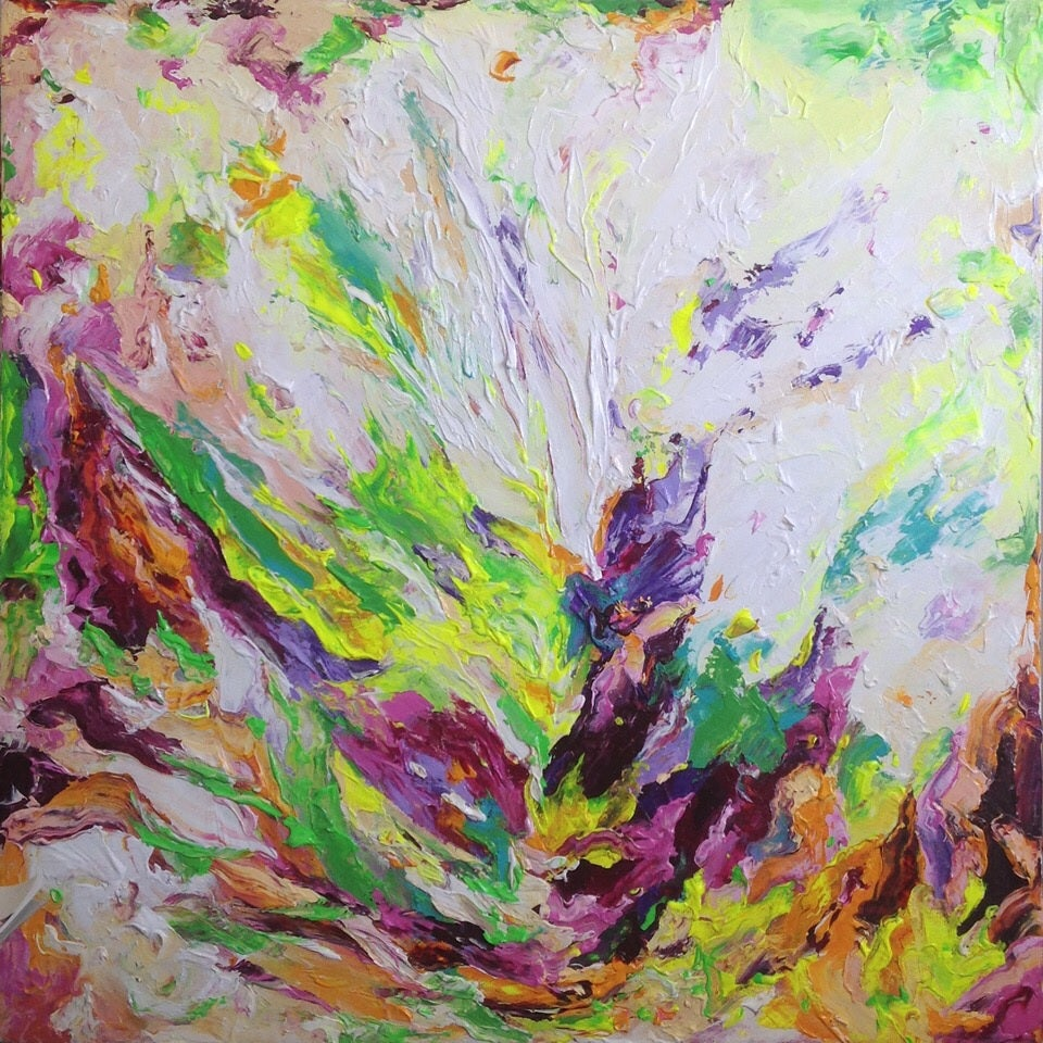Image of 'Germen' - 91x91cm