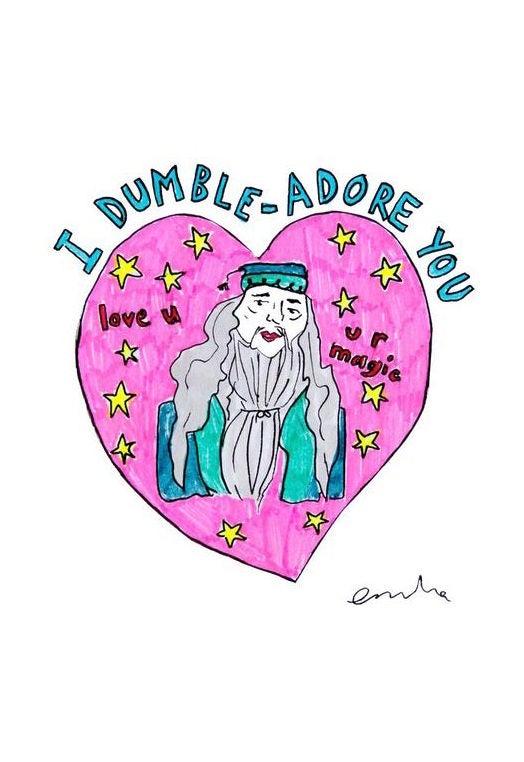 Image of I Dumbleadore You Card